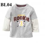 (BL04) เสื้อแขนยาว ไซส์ 2T (ผ้าดีมาก หนา นิ่ม สำหรับเด็ก 2-3ขวบ)