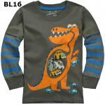 (BL16) เสื้อแขนยาว ไซส์ 2T (ผ้าดีมาก หนา นิ่ม สำหรับเด็ก 2-3ขวบ)