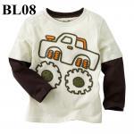 (BL08) เสื้อแขนยาว ไซส์ 2T (ผ้าดีมาก หนา นิ่ม สำหรับเด็ก 2-3ขวบ)